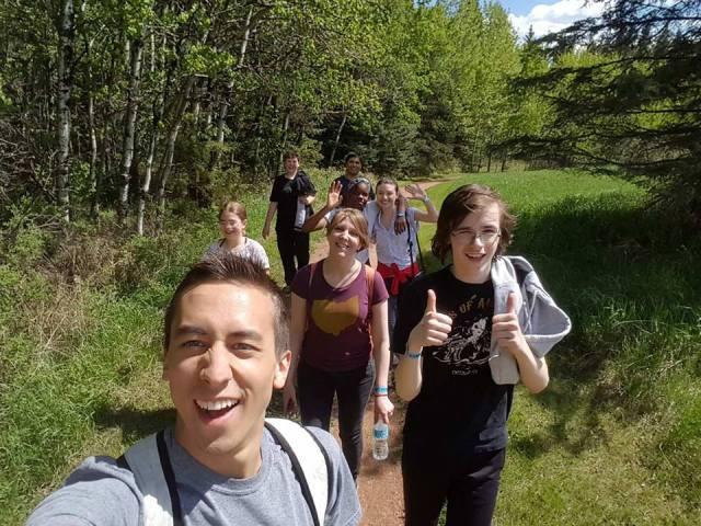 Red Deer hike