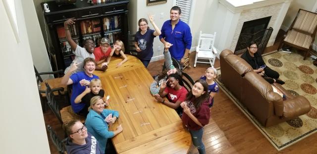 first youth group 2019 - Burchett home.jpg